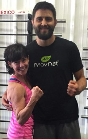 Julie Beck with Carlos Condit