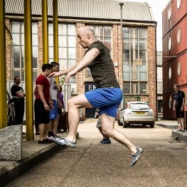 Training Natural Movement in an Urban & Gym Environment (Part 1)