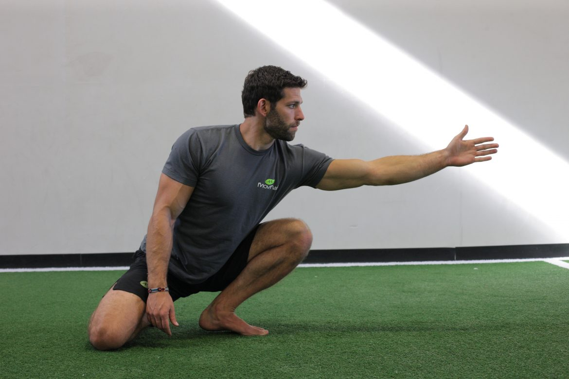 Danny reaching - mobility, groundwork
