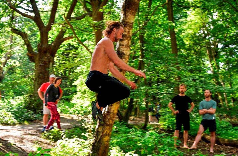 Erwan jumping - movnat advanced natural movement workout