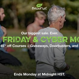 Black Friday & Cyber Monday Sale – up to 45% Off MovNat Courses!