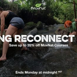 Spring Reconnect Sale – up to 35% Off MovNat Courses!